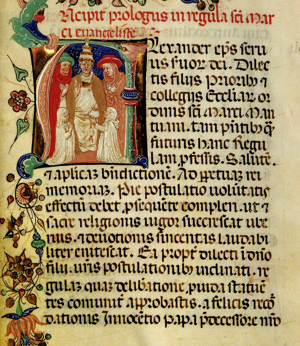 Manoscritto in Gotica Rotonda, Italia, prima del 1450