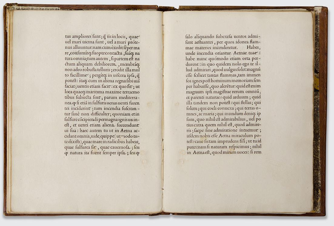 De Aetna, Aldo Manuzio, Venezia 1496